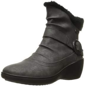 Romika Womens Savona Faux Fur Round Toe Ankle Fashion Boots.