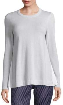 Peserico Solid Long Sleeve Sweater