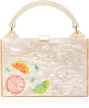 Edie Parker Large Inlay Housewife Bag