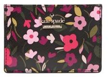 Kate Spade Boho Card Case - BLACK MULTI - STYLE