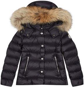 Moncler Alice Fur Hood Coat