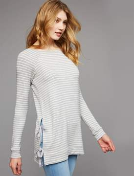 A Pea in the Pod Side Access Mock Layer Nursing Top