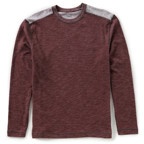 Roundtree & Yorke Casuals Long-Sleeve Pieced Crew