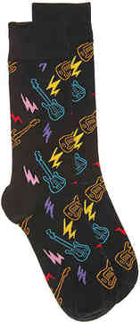 Happy Socks Men's Guitar Men's's Crew Socks