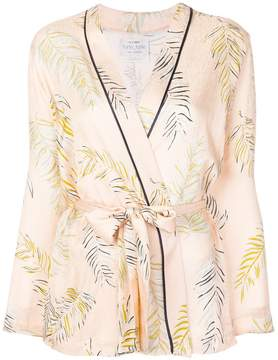 Forte Forte embroidered belted jacket