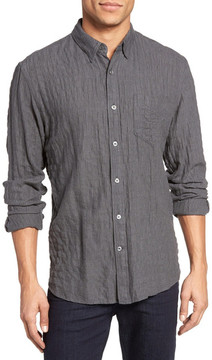 Billy Reid Crinkle Pocket Trim Fit Sport Shirt