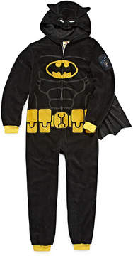 Lego Batman One Piece Pajama With Cape- Boys