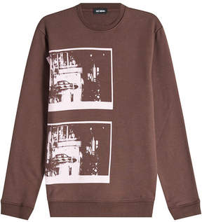 Raf Simons Printed Cotton Sweatshirt