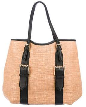 Isaac Mizrahi Lucille Straw Tote