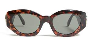 FOREVER 21 Replay Vintage Oval Sunglasses
