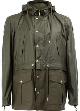 Moncler Gamme Bleu hooded field jacket