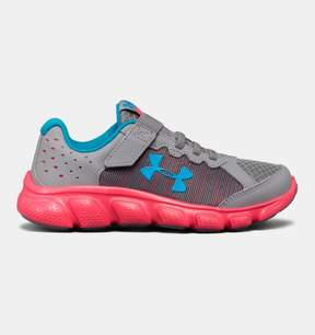 Under Armour Girls' Pre-School UA Assert 6 AC Running Shoes
