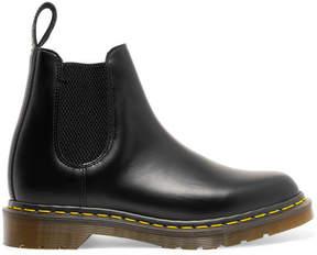 Comme des Garcons Dr Martens Leather Chelsea Boots - Black