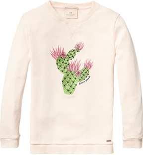 Scotch & Soda Embroidered Artwork Sweatshirt