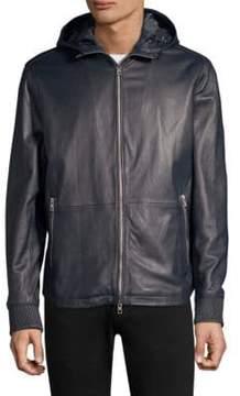 Michael Kors Nappa Hooded Jacket