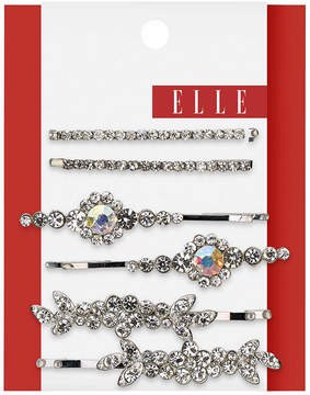 Elle Assorted Silver Bobby Pins