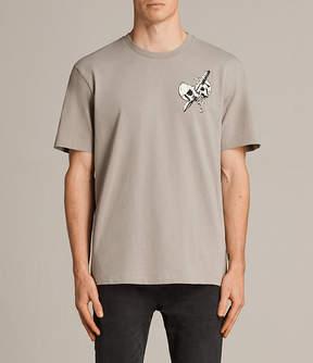 AllSaints Splitter Crew T-Shirt