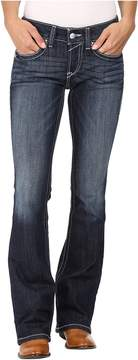 Ariat R.E.A.L. Bootcut Rosey Whipstitch Jeans in Lakeshore Women's Jeans