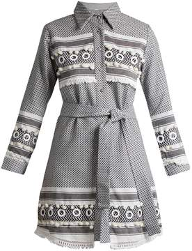 DAY Birger et Mikkelsen DODO BAR OR Menashe tassel-embellished cotton shirtdress