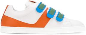 Fendi colour-block sneakers