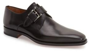 Magnanni Men's Marco Monk Strap Loafer