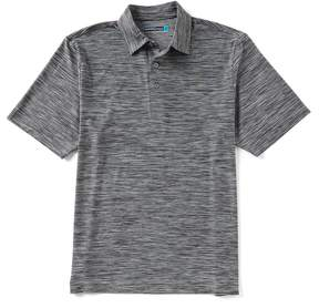 Roundtree & Yorke Performance Big & Tall Short-Sleeve Spacedyed Polo