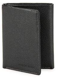 Perry Ellis Textured Leather Tri-Fold Wallet