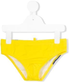 DSQUARED2 logo swim trunks
