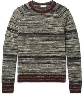 Dries Van Noten Mélange Striped Cashmere-Blend Sweater