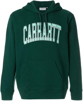 Carhartt logo print Division hoodie