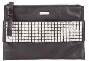 Kate Spade Swarovski-Embellished Clutch - BLACK - STYLE