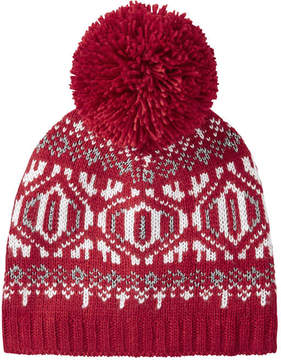 Joe Fresh Women's Fair Isle Knit Hat, Red (Size O/S)