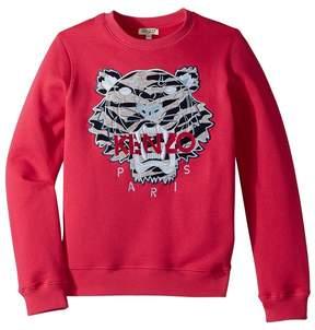 Kenzo Sweat Seasonal Tiger Girl's Clothing