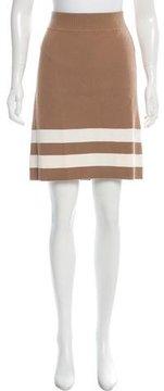 Edun Wool Striped Skirt