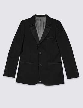 Marks and Spencer 2 Button Tuxedo Blazer (3-14 Years)