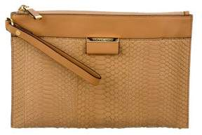 Michael Kors Large Zip Clutch w/ Tags - NEUTRALS - STYLE