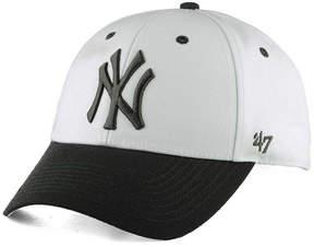 '47 New York Yankees 2Tone White/Charcoal Mvp Cap