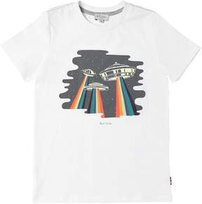 Paul Smith Glow In The Dark Ufo Jersey T-Shirt