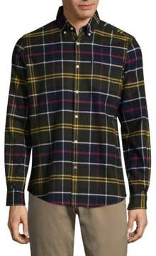 Barbour Checked Cotton Button-Down Shirt