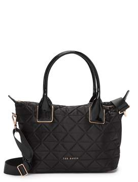 Ted Baker Herlia Quilted Small Nylon Tote