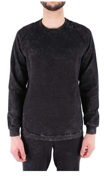Reebok Men's Black Cotton Sweatshirt.