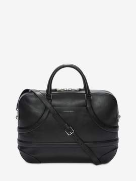 Alexander McQueen Calf Leather Harness Briefcase