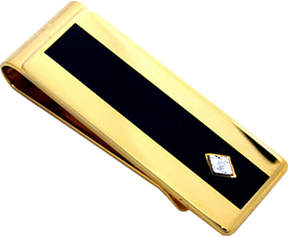 Asstd National Brand Enamel & Diamond Gold-Tone Money Clip