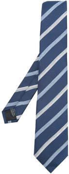 Cerruti asymmetric stripe tie