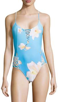 6 Shore Road Women's Lily One Piece Swimsuit