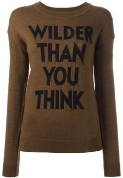 Each X Other 'Wilder Than You Think' jumper