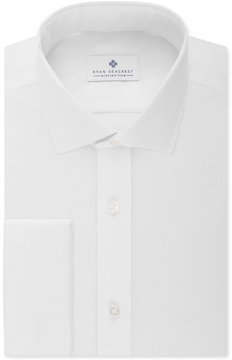 Ryan Seacrest Distinction Slim-Fit Non-Iron Ultimate White French Cuff Dress Shirt, Created for Macy's