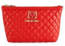 Love Moschino Bustina Faux Leather Pouch