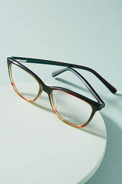 Anthropologie Colorblocked Cat-Eye Reading Glasses