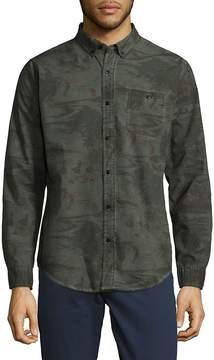 Ezekiel Men's Woven Button-Down Shirt